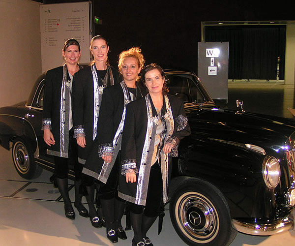 Tempo di Valse provides the music for the new Mercedes-Benz S-class